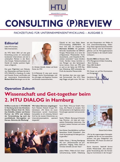 2016 10 HTU Consulting Preview Oktober 2016